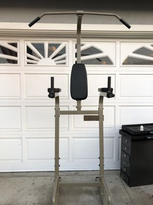 Pull up bar and vertical knee raise for Sale in Cerritos, CA
