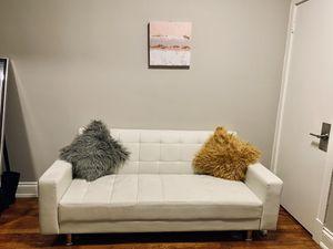 Rosalind Leather Convertible Sleeper Sofa for Sale in Washington, DC
