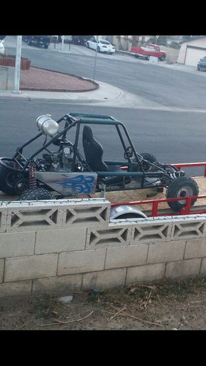 Custom sand rail one seater 2 Speed high low has a 1978 trail bike Honda motor I have two engines both of them run it is a 350 carburetor to piston for Sale in Las Vegas, NV