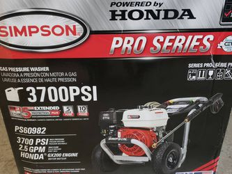 Honda 3700psi Pressure Washer for Sale in Tacoma,  WA