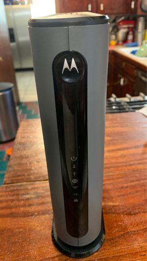 Motorola modem MG7550 for Sale in Houston, TX