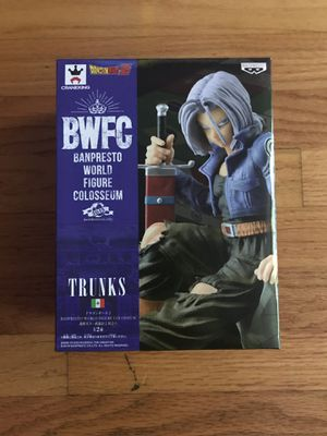 Dragon Ball BWFC Trunks for Sale in Chicago, IL