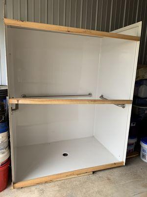 Fiberglass handicap shower with grab bars for Sale in Milaca, MN