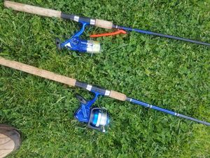 Two Open face fishing rods for Sale in Anderson, SC