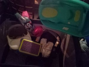 Baby bundle pack&play highchair & more for Sale in Phoenix, AZ