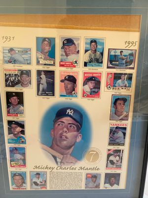 Mickey mantle piece for Sale in Vallejo, CA