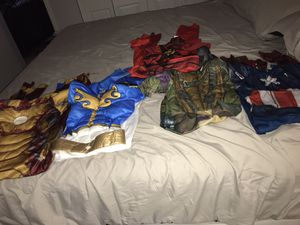 BOYS FREE PLAY COSTUMES for Sale in Tampa, FL