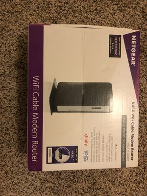 netgear n450 2 in 1 modem router for Sale in Urbana, IL