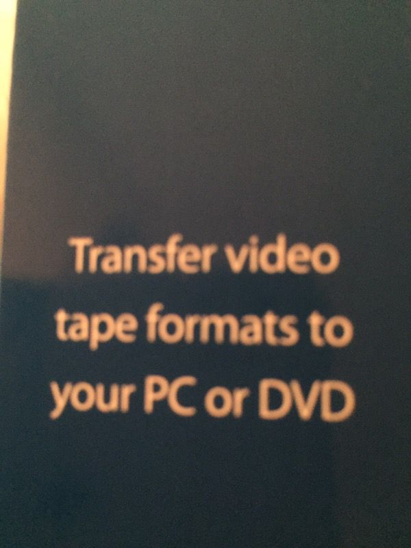 VHS to DVD Conversion Kit