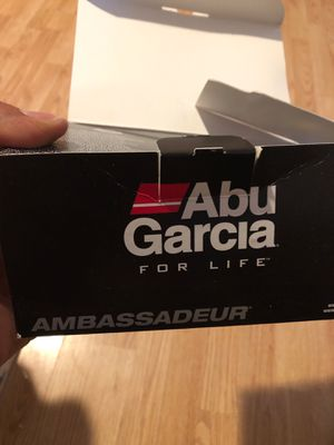 Reel abu Garcia with line counter for Sale in Oakland, CA