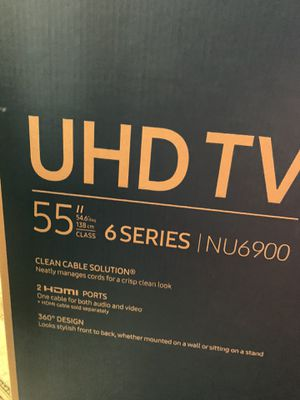 Samsung 55' INU6900 6 Series for Sale in PA, US