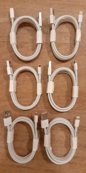 6 For $40 6FT iPhone Charging Cables Bundle for Sale in Las Vegas, NV