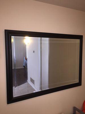Black Frame Mirror for Sale in San Francisco, CA