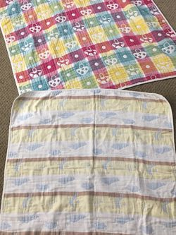 2-piece Baby Cotton Blankets for Sale in Moreno Valley,  CA