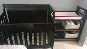 Crib and changig table for Sale in Fort Myers, FL