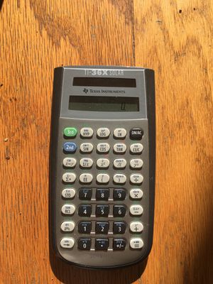 TI 36x solar scientific calculator for Sale in Richmond, CA