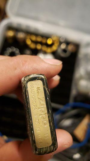 Vintage camo lighter zippo for Sale in Renton, WA