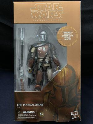 Star Wars Black Series Carbonized Mandalorian for Sale in Fresno, CA