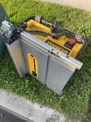 """Dewalt table saw 10"""" for Sale in Paramount, CA"""