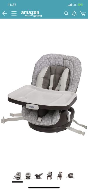 Graco swivi booster seat 3 in 1 for Sale in The Bronx, NY