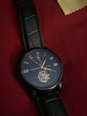 Thomas Earnshaw Moonphase Black Watch for Sale in Miami, FL