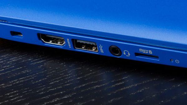 "HP 13-C110NR Notebook Stream 13 13.3"" HD Celeron N3050 2GB RAM 32GBeMMc 1.60GHz Win 10 Home Blue"
