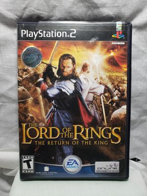 Lord of the rings the return of the king play station 2 for Sale in Zanesville, OH