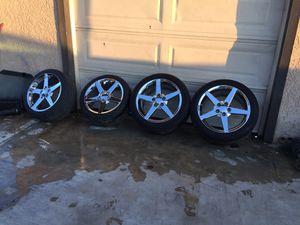 Corvette c6 rims (REPLICAS) 5x120 for Sale in Riverside, CA