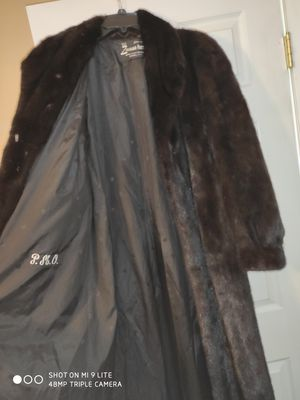Zinman furs authentic full length mink coat for Sale in Athens, PA