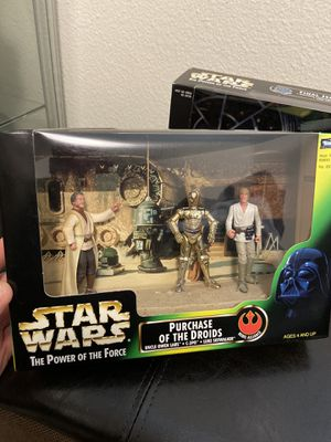 Star Wars Power of the force action figures for Sale in Auburn, WA