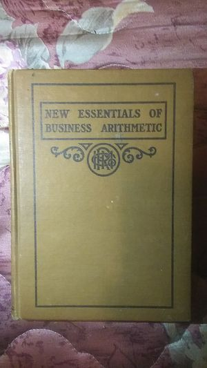 Mew essentials of business arithmetic for Sale in Gilmer, TX