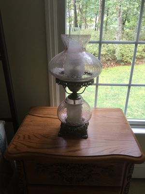 Hurricane Lamps (2) for Sale in Barnegat, NJ
