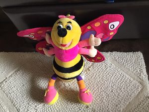 Plush animal colorful bee for Sale in Goodyear, AZ