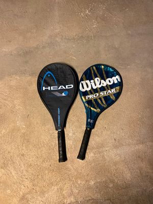 Tennis rackets for Sale in Seymour, CT