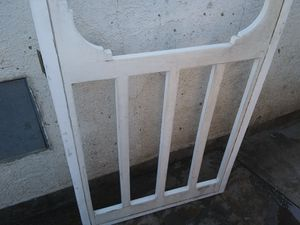Aluminum Screen Door w/ vertical sliding window for Sale in Norwalk, CA