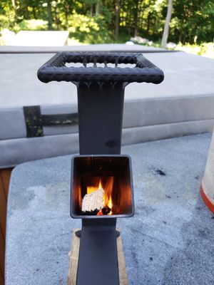 Rocket stove camping cooking stove wood cooking stove for Sale in Poughkeepsie, NY