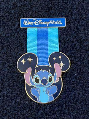 Disney Pin #179, Walt Disney World, Stitch Medal Ribbon for Sale in San Diego, CA