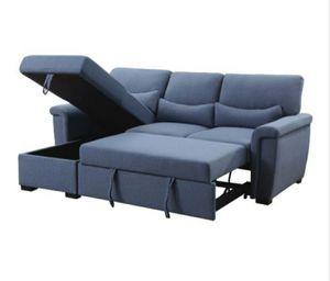 Sectional with pull out sleeper for Sale in Fullerton, CA