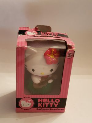 Cute Hello Kitty cat in hula playing Ukulele dashboard car auto mount for Sale in Plainville, CT