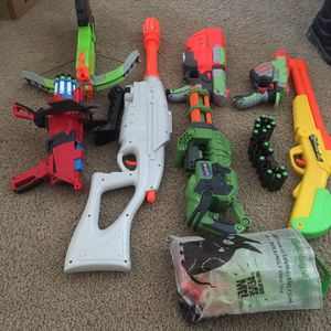 Nerf Gun Collection for Sale in Fountain Valley, CA