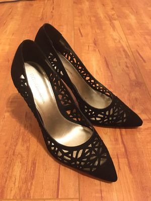 BCBG size 7 gorgeous black heels for Sale in Murrieta, CA