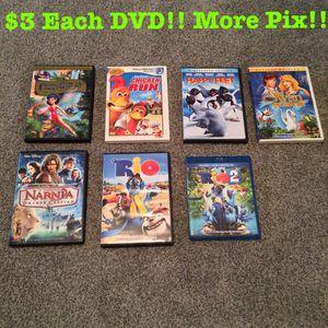 DVD's $3 Each!! for Sale in Phoenix, AZ