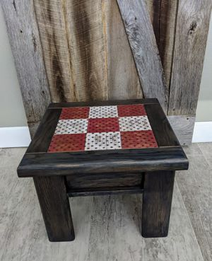 Upcycled small side table/stool for Sale in Tempe, AZ