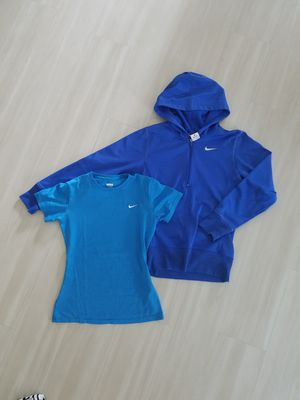 Nike Hoodie and top in blue XS for Sale in Seattle, WA