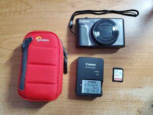 Canon PowerShot SX730 HS 20.3-Megapixel Digital Camera w/ SanDisk - Ultra PLUS 128GB SDXC UHS-I Memory Card and Lowepro Case for Sale in Lake Ridge, VA