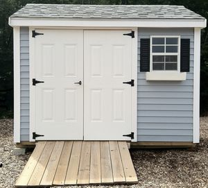 New 6' x 10' Vinyl Shed for Sale in Rehoboth, MA