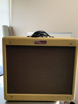Fender Blues Junior Limited Edition Guitar Amp for Sale in Dallas, TX