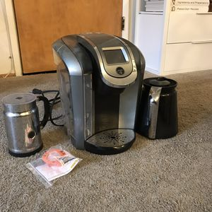 Keurig 2.0 with Carafe & Nespresso Frother for Sale in Long Beach, CA