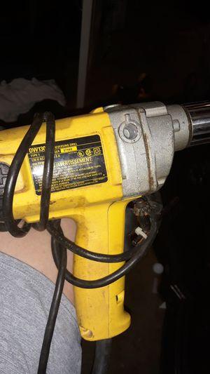 "Dewalt 1/2"" reversing drill for Sale in Wichita, KS"