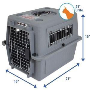 Gray Pet Sky Kennel for Sale in Chicago, IL